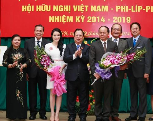 Lý Nhã Kỳ trở thành Ủy viên ban thường vụ Hội hữu nghị Việt Nam - Philippines