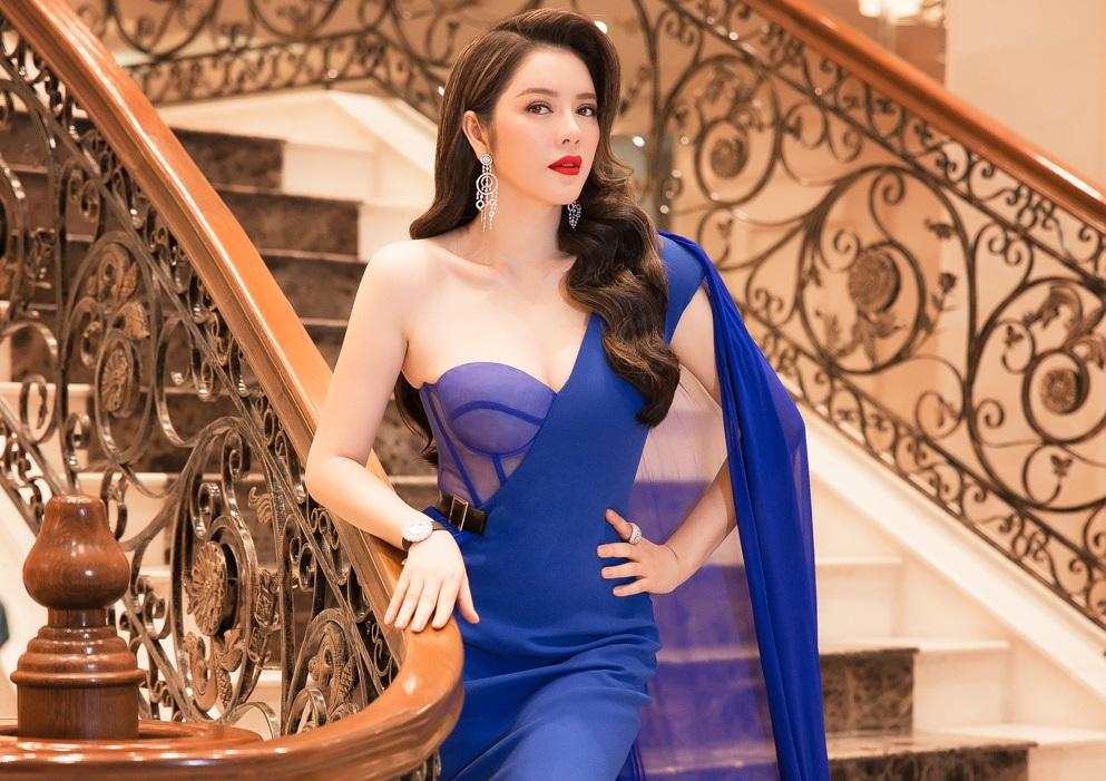 Lý Nhã Kỳ lộng lẫy trong chung kết Miss Grand International 2017